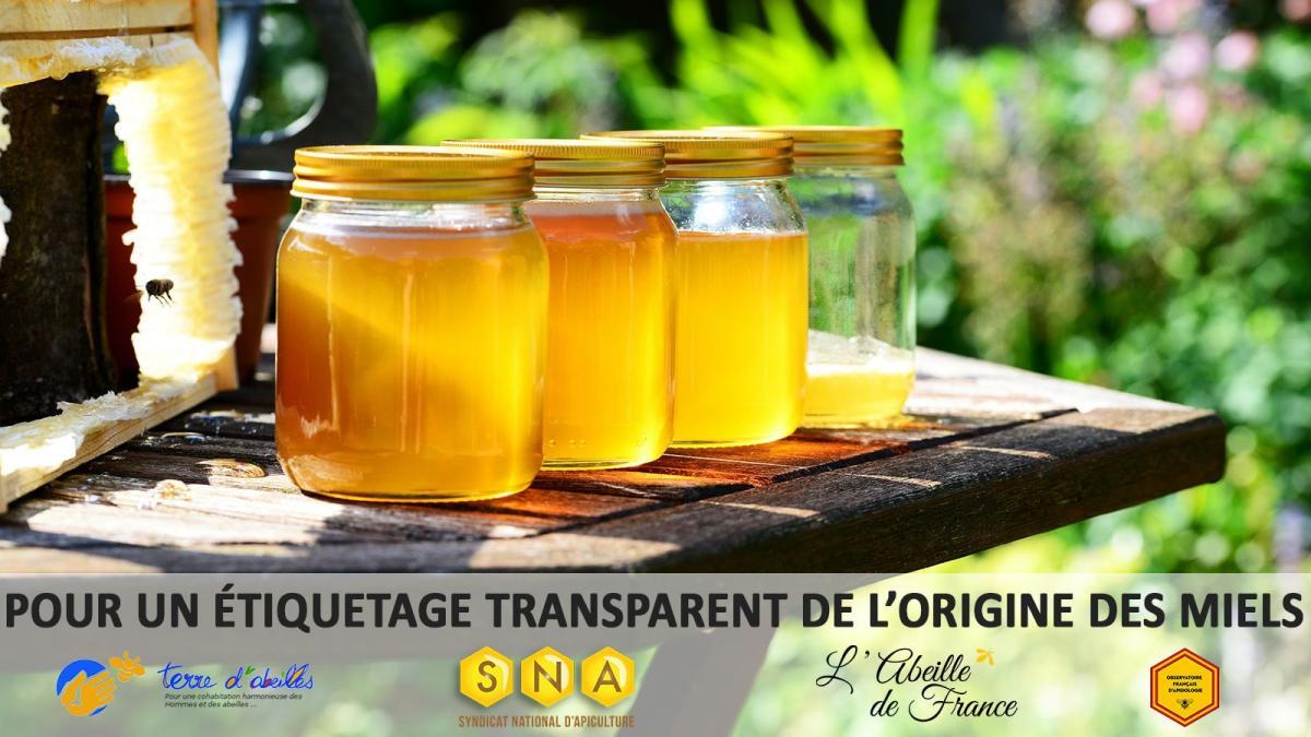 Petition etiquetage miel 2020